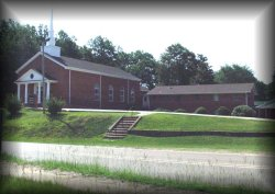 Vaiden Baptist Church  --  2000