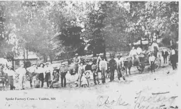History Of Vaiden Mississippi