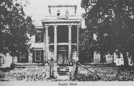 Prairie Mont -- Home of Dr. & Mrs. Cowles Mead Vaiden, of Vaiden, Mississippi